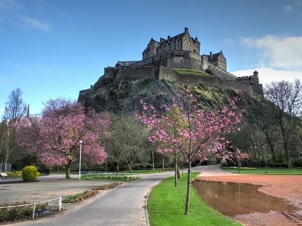 Capital Castle by ianmoorcroft