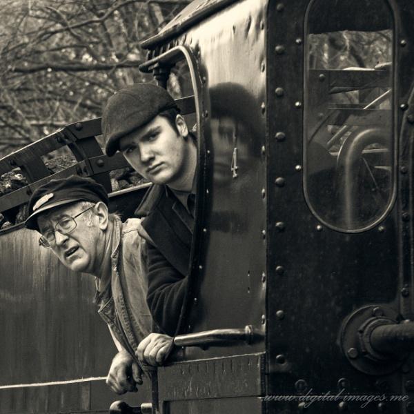 Driver and Fireman by Alan_Baseley