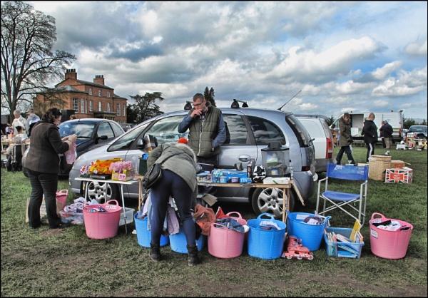 Car Boot Sale. by stocksbridge