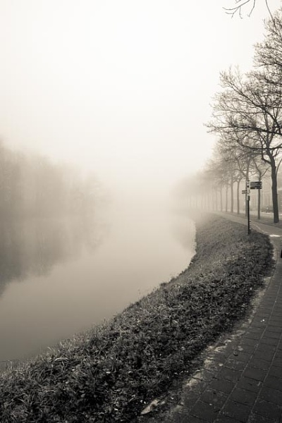 Zwolle in mist 1 by deviant