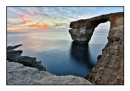 Azure Window @ Sunset by alistairfarrugia