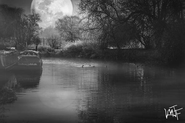 Big Moon by martfaulkner