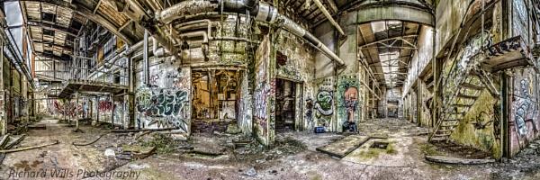 Derelict Mill by Richard725