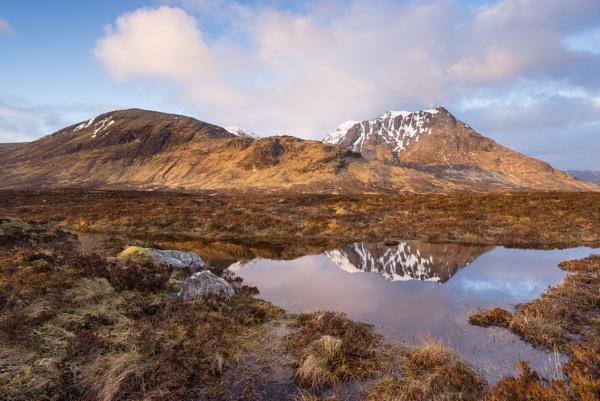 Rannoch Moor Lochan by PaulHolloway