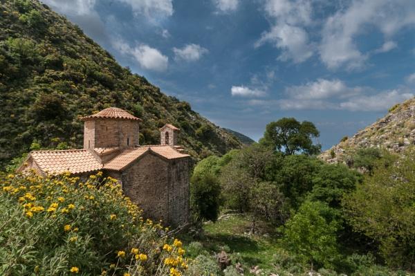 Vaidenitsa Monastery church by Scutter