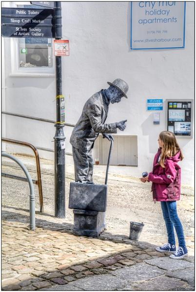 Living Statue 2 by TrevBatWCC