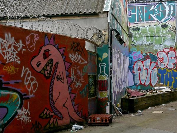 Alley monster by gonedigital62