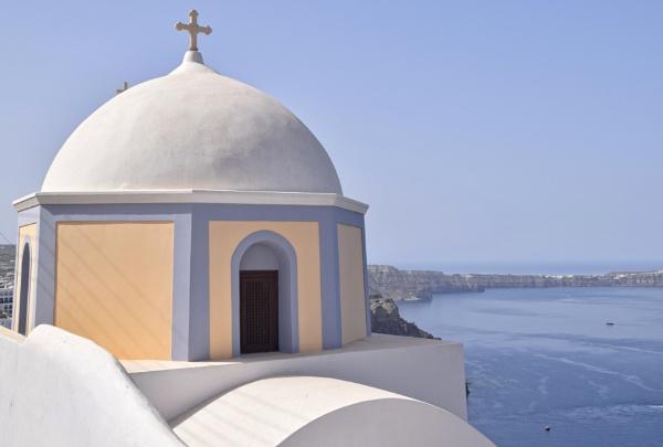 Around the World in 28 days...Santorini by ColleenA