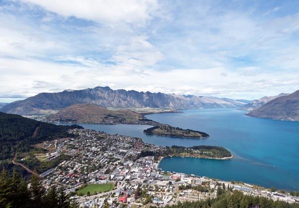Queenstown and Lake Wakatipu by NevJB