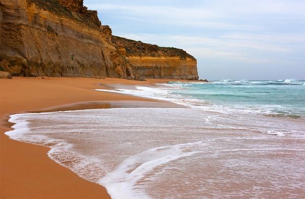 Coastline Scene by PhilMinnis