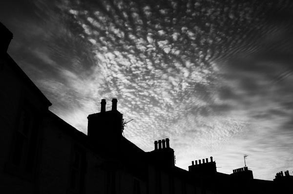 Skyline above Garlieston by Backabit