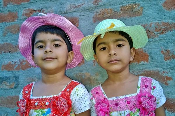 Twin kids by ujjalchhandar