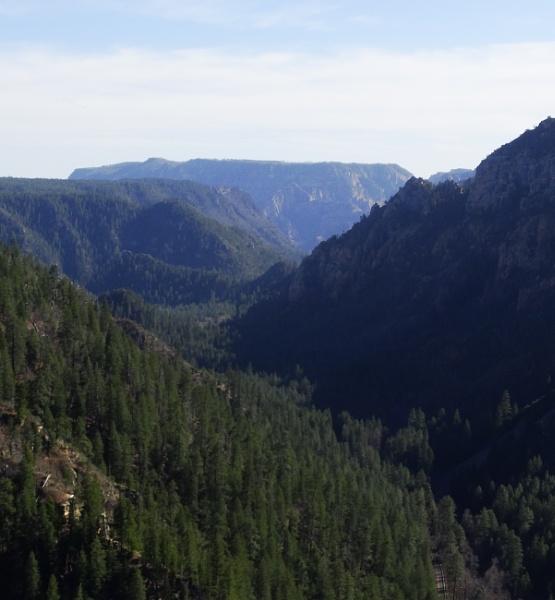On top oak creek canyon by bwarnke
