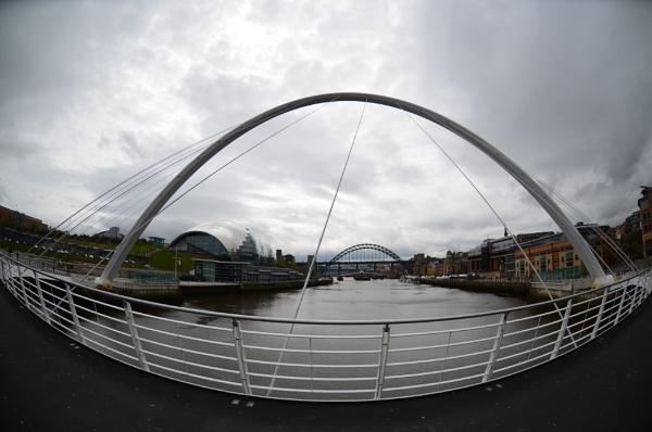 Newcastle Riverside & Bridges by NorthernPhotographer