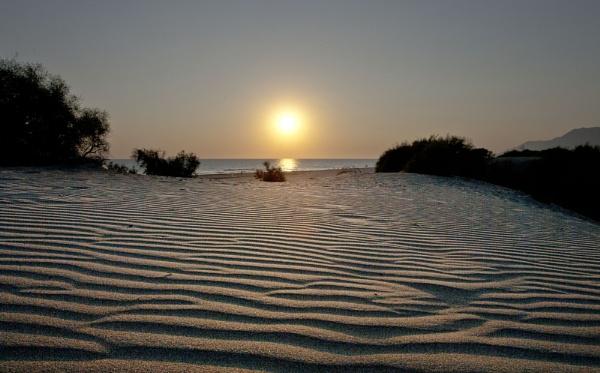Patara Beach at Sunset by AMS1