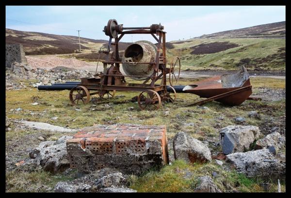 old mixer , leadhills . by callumcorrie