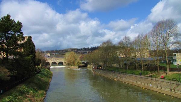 April in Bath by pamzan
