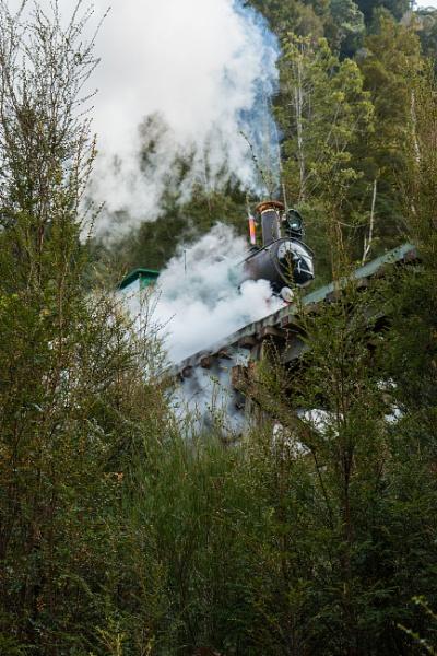 West Coast wilderness Railway by Brindamour