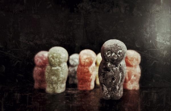 Zombie Jelly Baby Apocalypse by adonoghue