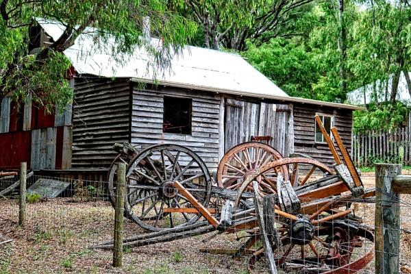 Broken Wheels. by WesternRed