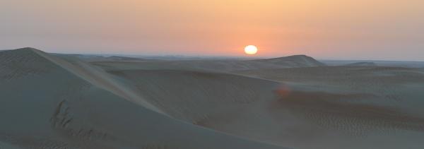 Sunrise Western Desert UAE by cozzmic