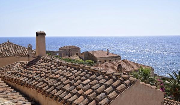 Around the World in 28 days...Monemvasia by ColleenA