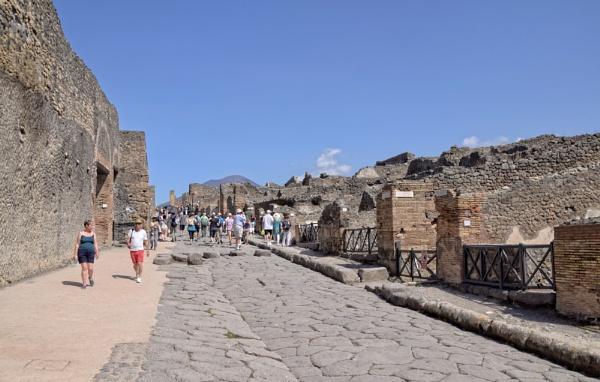 Around the World in 28 days...Pompeii and Mount Vesuvius by ColleenA