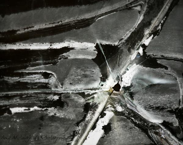 Bullet Holes and Broken Glass by littlemisschatterbox