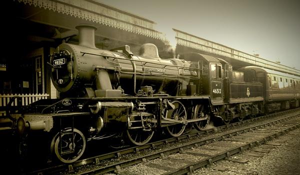 The Strathspey Railway by Eckyboy