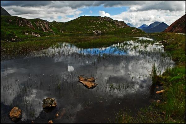 Lochan above Lower Diabaig by Grumby