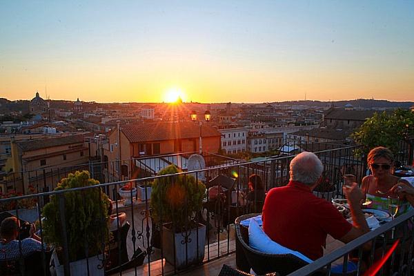 Roman Sunset by eyewhy