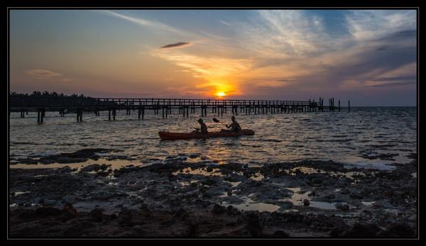 Kayak on the Keys by mjparmy