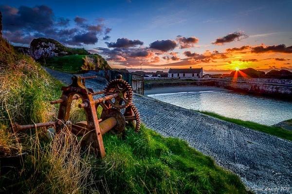 Ballintoy Harbour by DavidLaverty