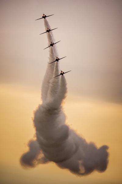Royal Air Force Aerobatic Team by BydoR9