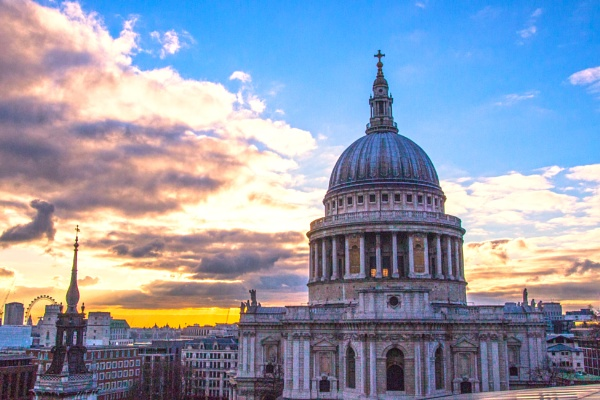 The dome of St. Pauls Cathedral