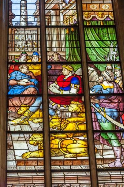 """Detail \""""Jesus in the temple\"""" by kuipje"""