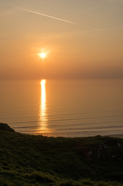 Rhossili Sunset by PRC