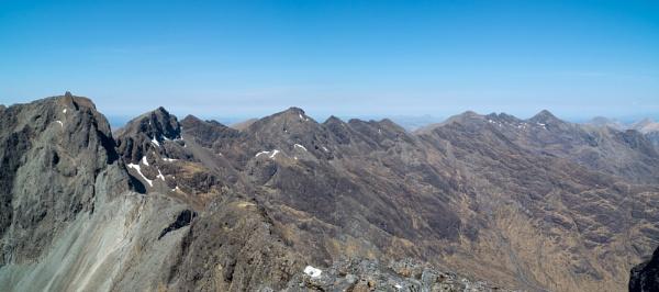 North Along The Cuillin Ridge by NevJB