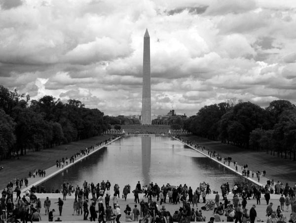The Washington Monument by oldgreyheron