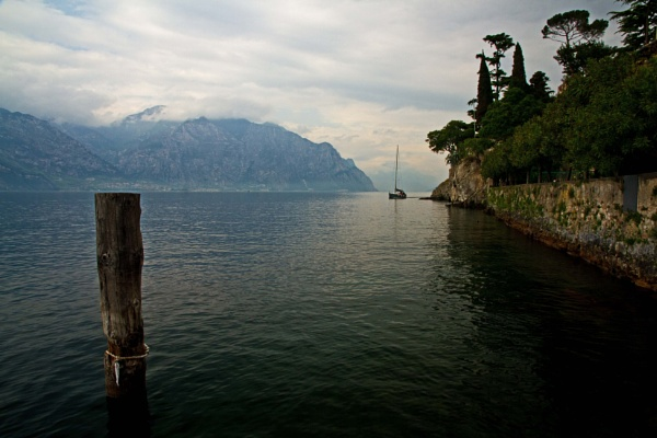 Lake Garda from Malcesine by rambler