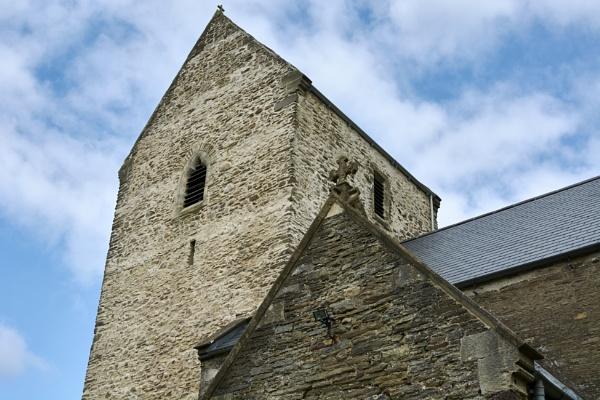 The parish church Bedwas by Meditator
