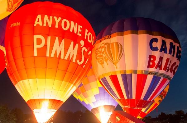 Balloon Festival by ww2spitfire