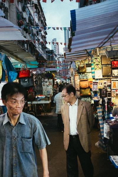 Temple Street Market, Hong Kong by JaHa