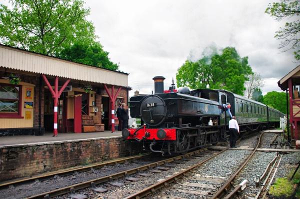 Arrival at Tenterden Station... by af1