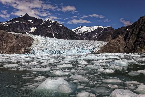 LeConte Glacier by JGCurry