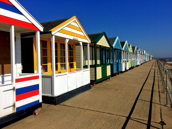 Southwold beach huts by Metro6R4