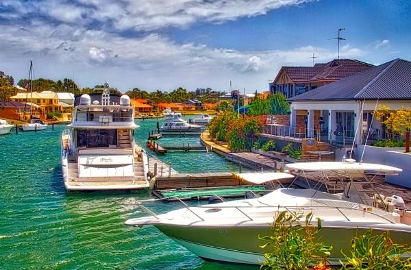 Inlet Marina Mandurah. by WesternRed