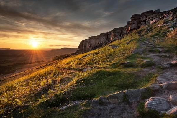 Stanage Sunset by Trevhas