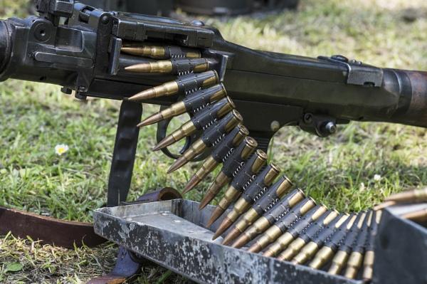 Machine Gun Patterns by doverpic