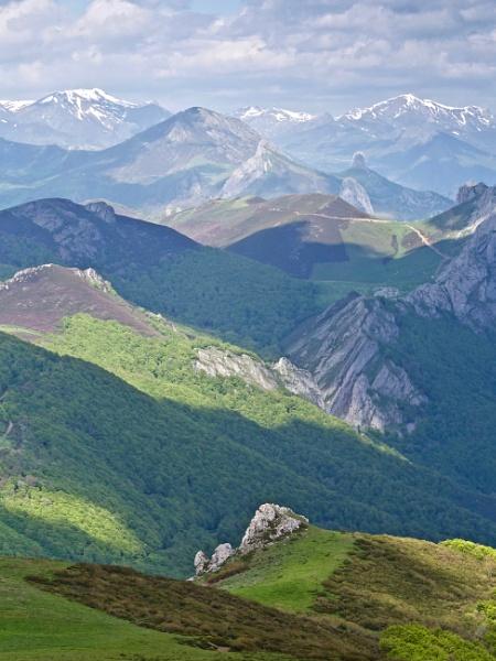 Landscape of the Picos de Europa by hrsimages